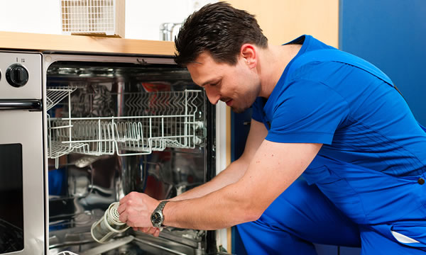Dishwasher Installation and Drain Cleaning and Repair in Cleveland, Ohio.