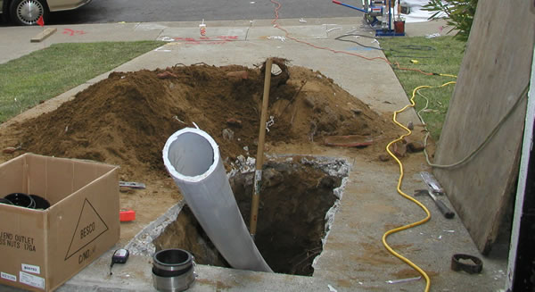 Trenchless Sewer Repairs and Pipe Replacement in Cleveland, Ohio.